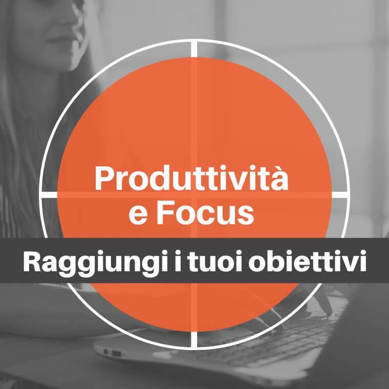 Corsi di formazione online produttività-focus
