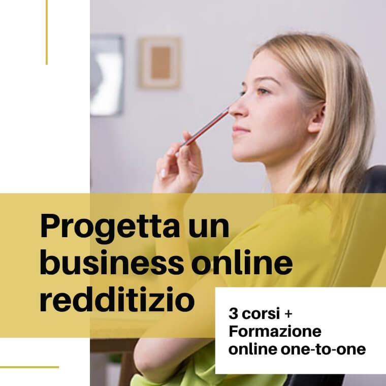 Progettare business online corso