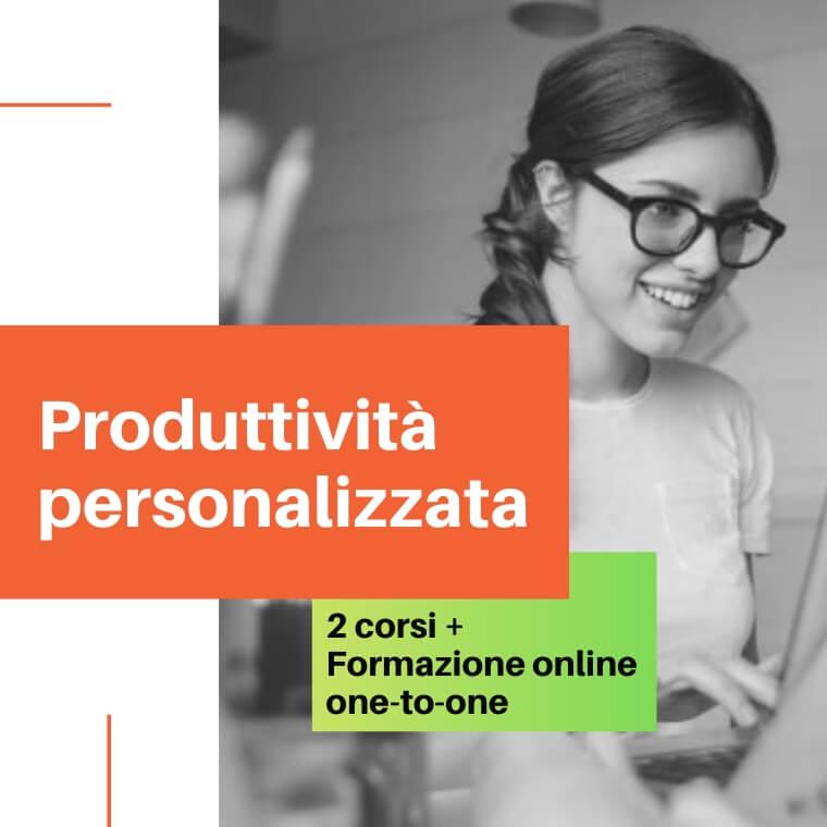 Corsi di formazione online: produttività personale